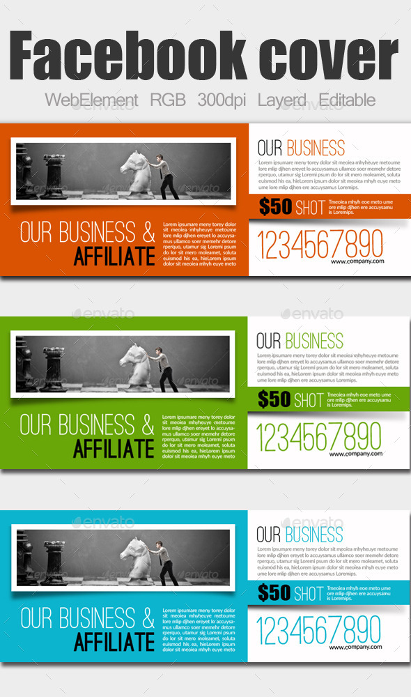 GraphicRiver Business Facebook Cover 9158857