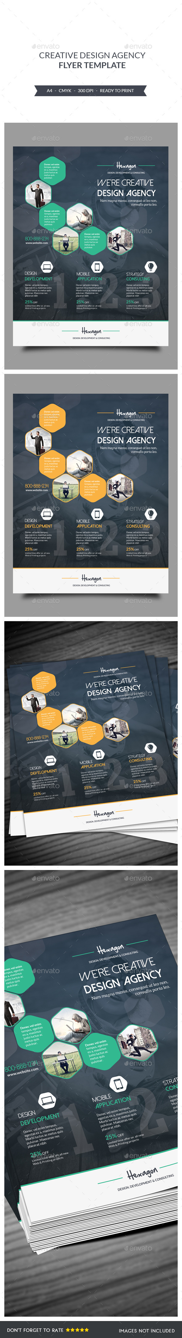GraphicRiver Design Agency Flyers Template 9159064