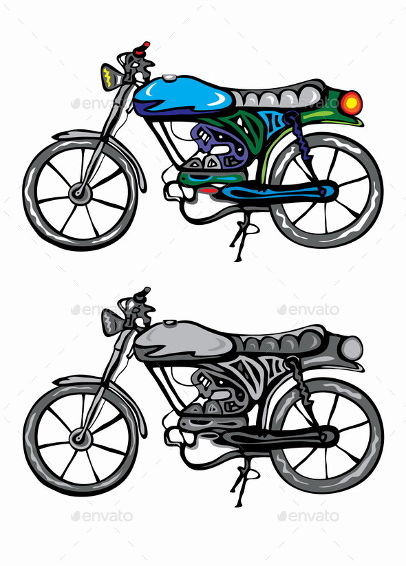 GraphicRiver Motorcycle 9159073
