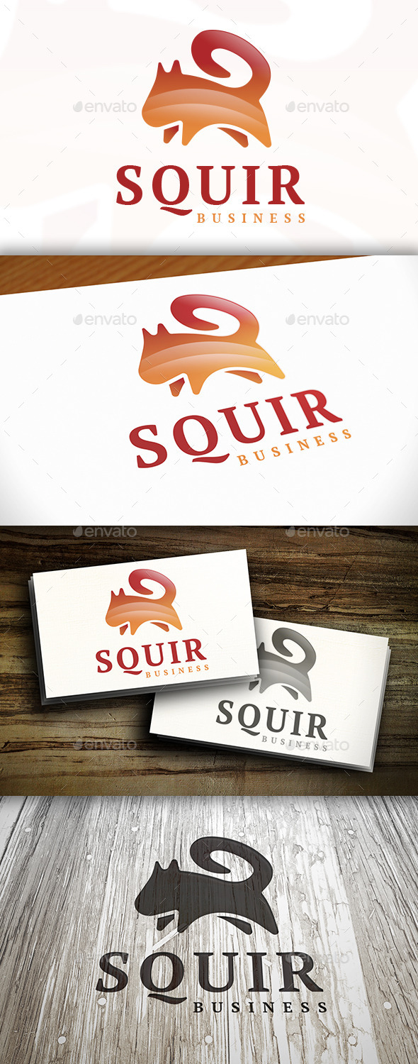 GraphicRiver Squirrel Logo 9159234