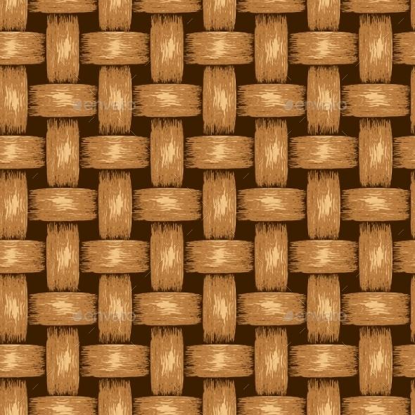GraphicRiver Wicker Seamless Background 9159475