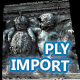 PLY point cloud importer for Maya 2013-2015 - 3DOcean Item for Sale
