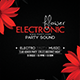 Electronic Floral Flyer - GraphicRiver Item for Sale