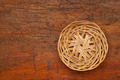 wicker basket tray abstract - PhotoDune Item for Sale