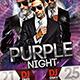 Purple Night Party - GraphicRiver Item for Sale