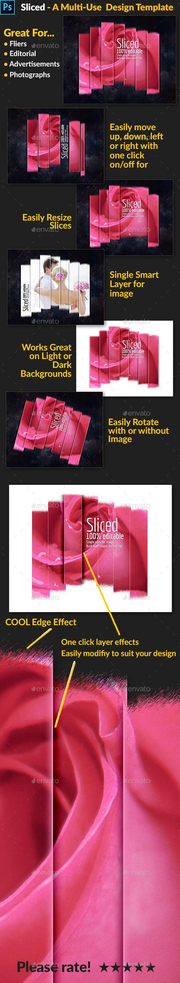 GraphicRiver Sliced A Multi-Use Design Template 9160073