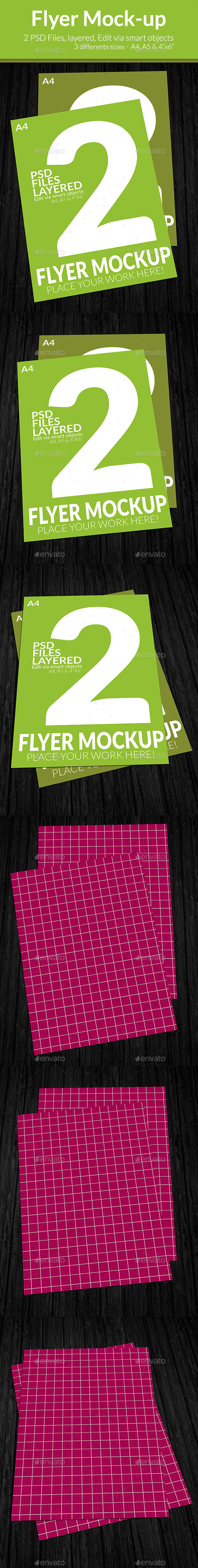 GraphicRiver Flyer Mock-up SS-8 9160097