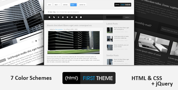 (html) First Theme