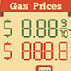 Gas Prices Infographics - GraphicRiver Item for Sale