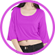 Woman Crop Top Mockup V2