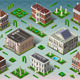 Isometric Historic American Building  - GraphicRiver Item for Sale