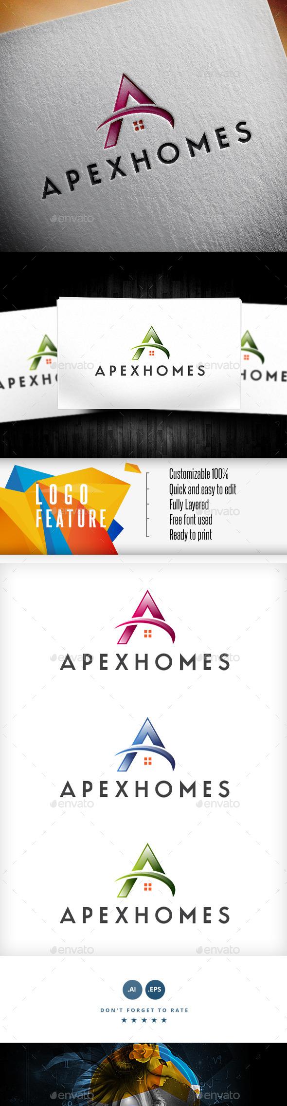 GraphicRiver A Letter Logo 9161197