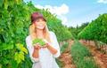 Happy woman on the vineyard - PhotoDune Item for Sale