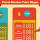 Petrol Station Price Signs - GraphicRiver Item for Sale