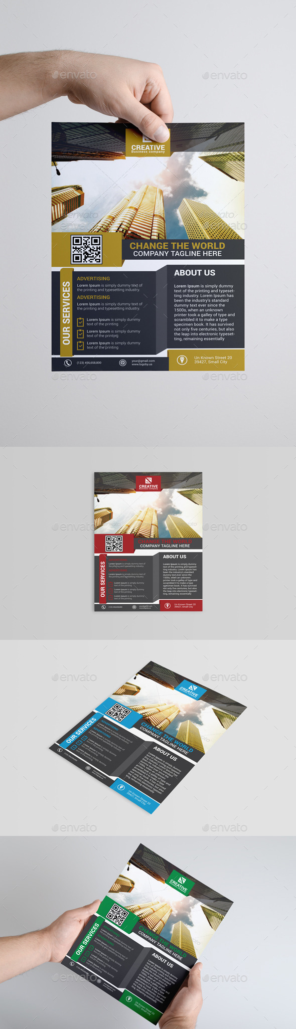GraphicRiver Corporate Flyer Template 9163053