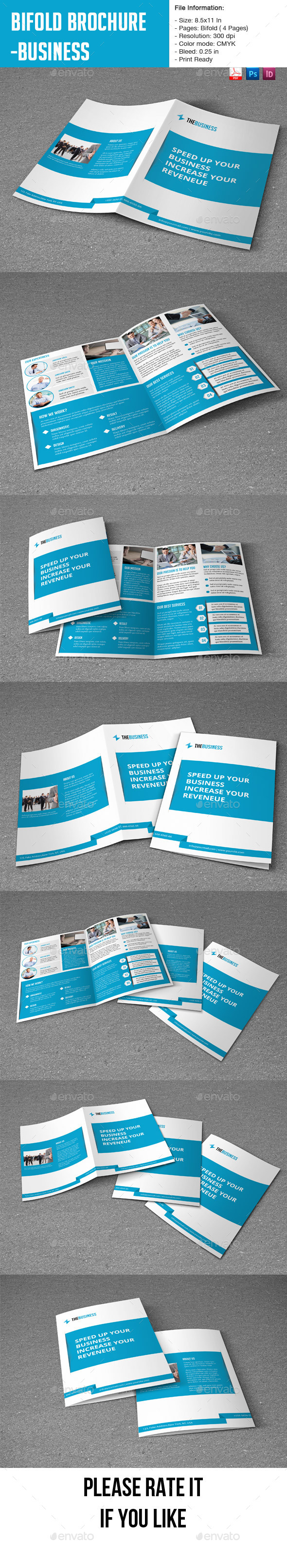 GraphicRiver Clean Business Brochure 9163055