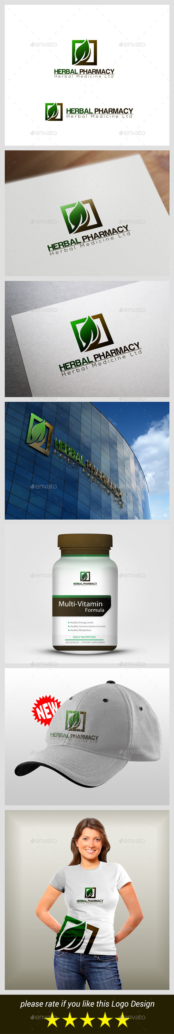 GraphicRiver Herbal Pharmacy 9163069