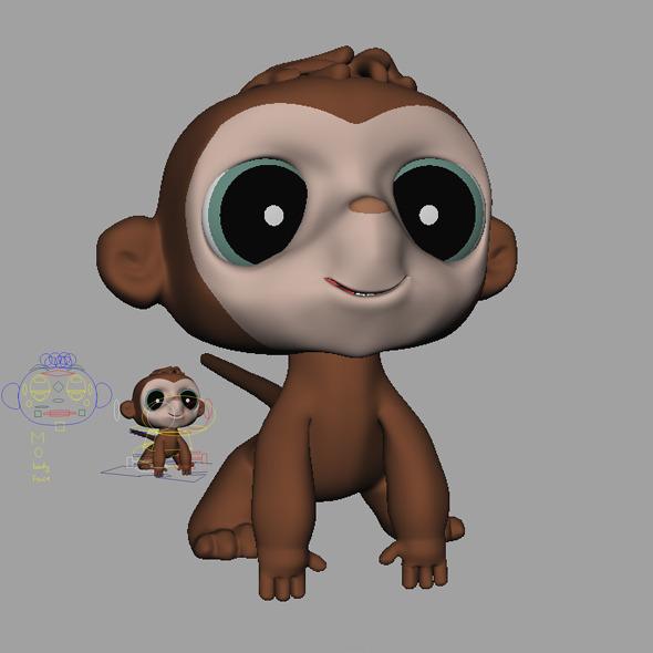 3DOcean Monkey 9163811