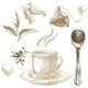 Hand Drawn Tea Set - GraphicRiver Item for Sale