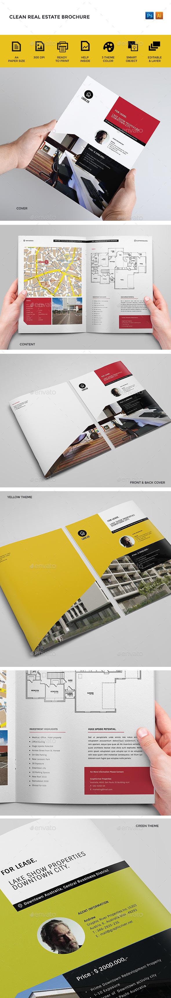 GraphicRiver Real Estate Brochure 9164191