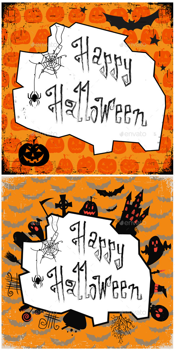 GraphicRiver Halloween backgrounds 9164300