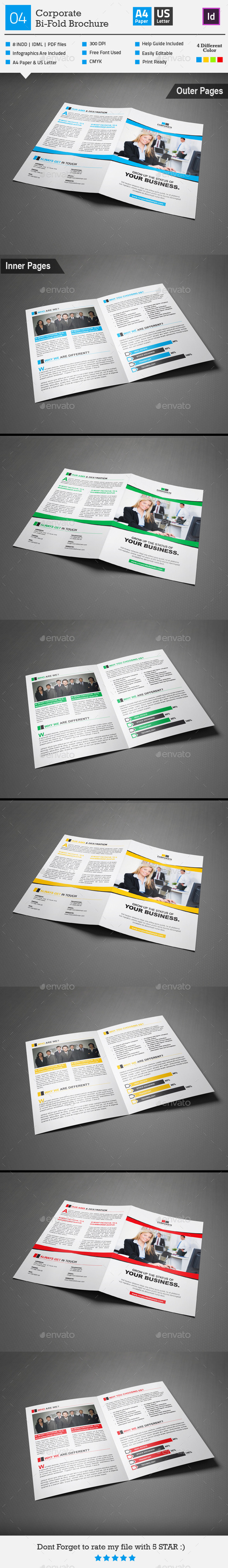 GraphicRiver Corporate Bi-fold Brochure 04 9164433