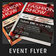 Fashion Show Promotional Flyer - GraphicRiver Item for Sale