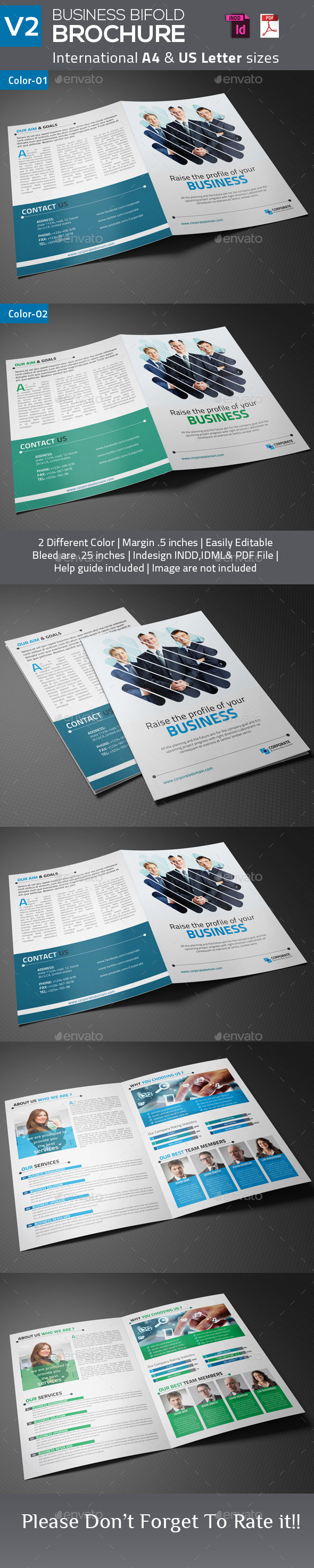 GraphicRiver Business Bifold Brochure V2 9164495