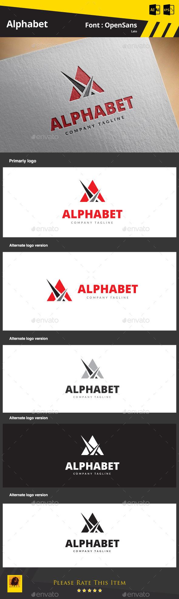 GraphicRiver A Letter Logo 9164884