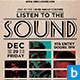 Listen to the Sound Flyer - GraphicRiver Item for Sale