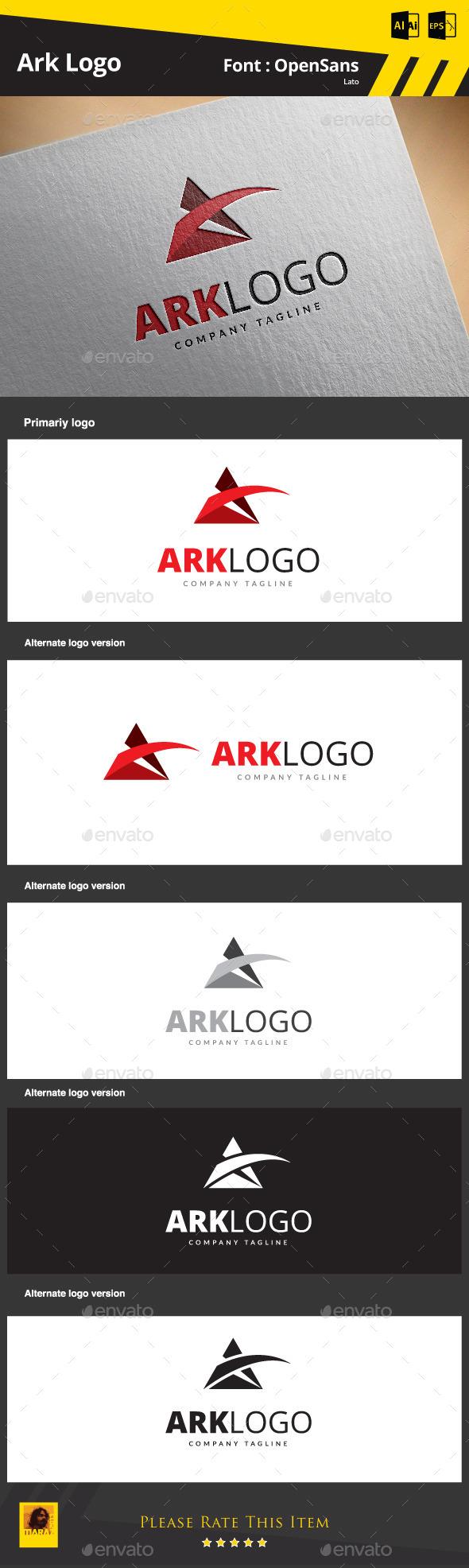 GraphicRiver A Letter Logo 9165251