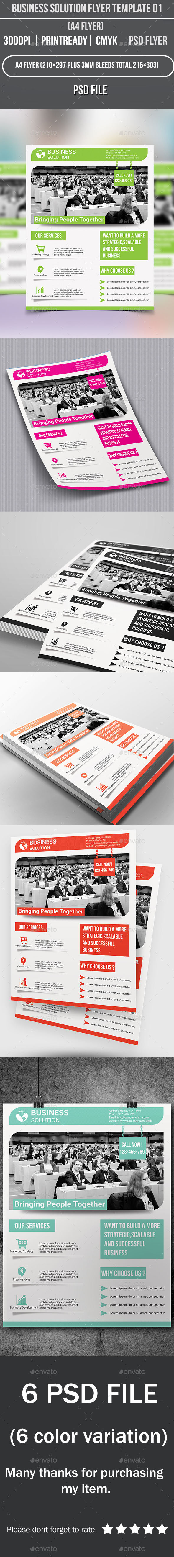 GraphicRiver Business Solution Flyer Template 01 9165280