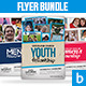Church Flyer Bundle Vol.5 - GraphicRiver Item for Sale