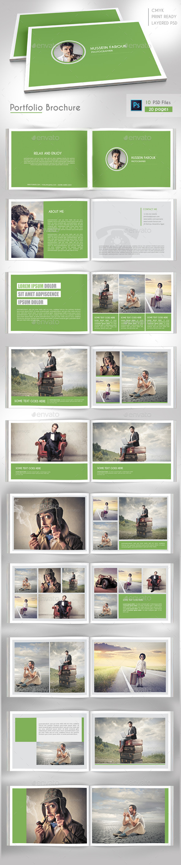 GraphicRiver Portfolio Brochure Vol 1 9166081