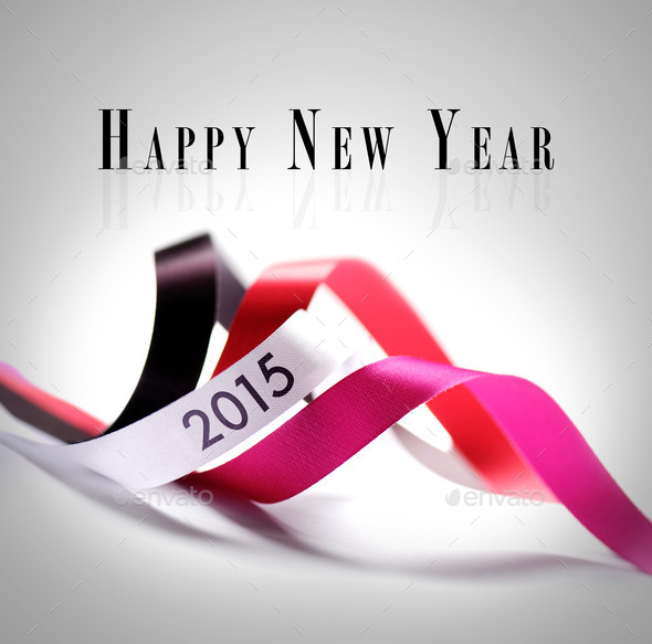 Greeting Card - Happy New Year 2015