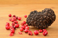 Black truffle and red pepper - PhotoDune Item for Sale