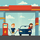 The Petrol Station - GraphicRiver Item for Sale