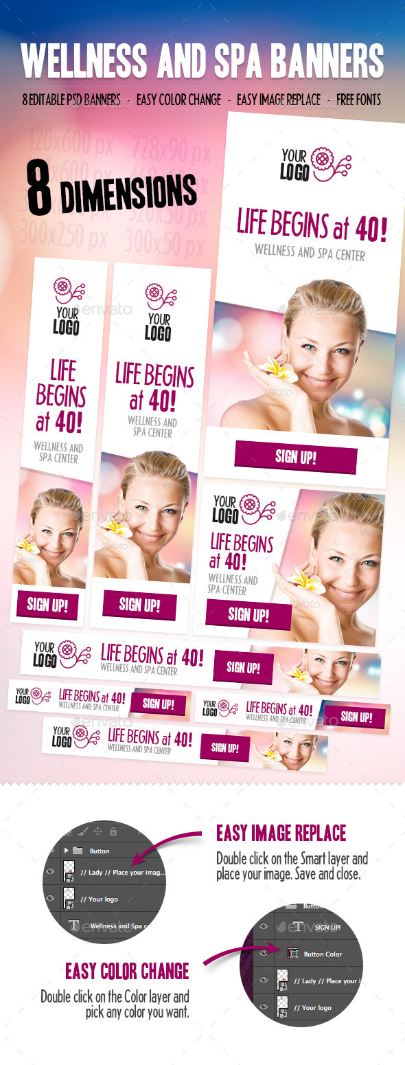 GraphicRiver Wellness and Spa Banners 9159713