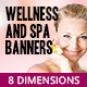 Wellness and Spa Banners - GraphicRiver Item for Sale