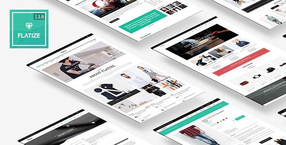 Flatize - Fashion WooCommerce WordPress Theme - WooCommerce eCommerce