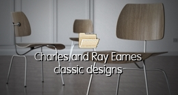 Charles and Ray Eames classic designs