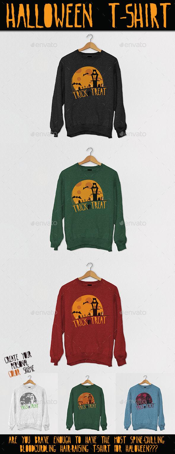 GraphicRiver Halloween T-Shirt 9168532