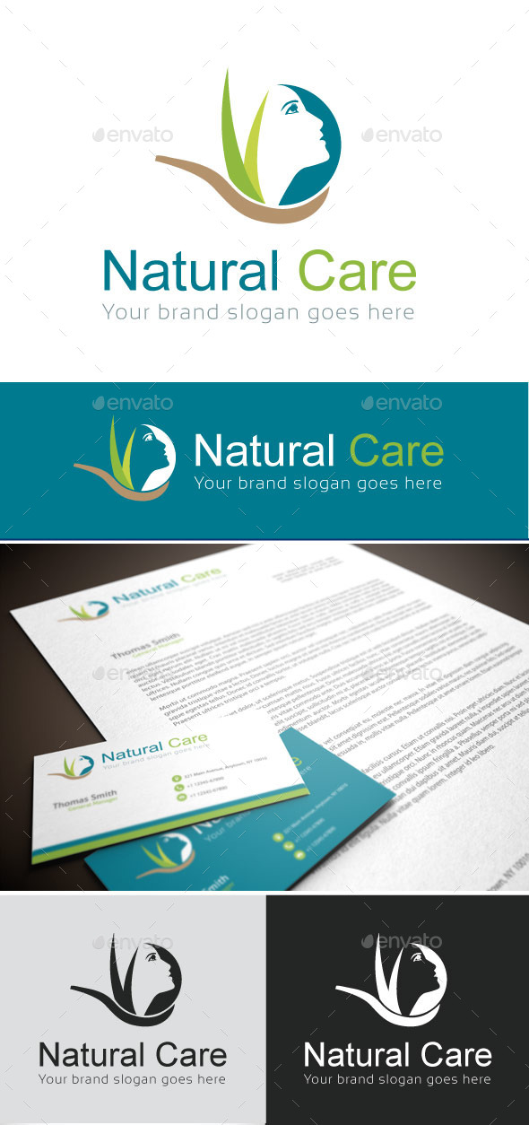 GraphicRiver Natural Care Logo Template 9168677