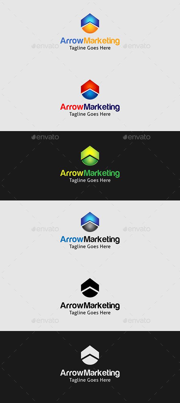 GraphicRiver Arrow Marketing 9169037
