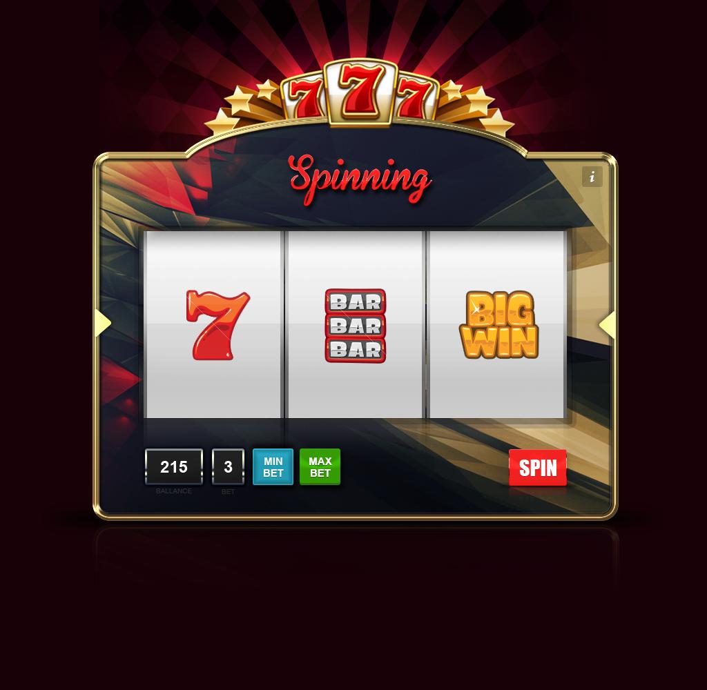 slot machine html5