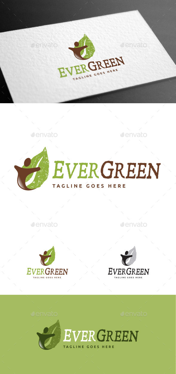 GraphicRiver Evergreen II Logo Template 9169422
