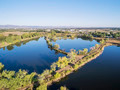 aerial view of lake natural area - PhotoDune Item for Sale