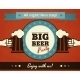 Big Beer Party Poster - GraphicRiver Item for Sale