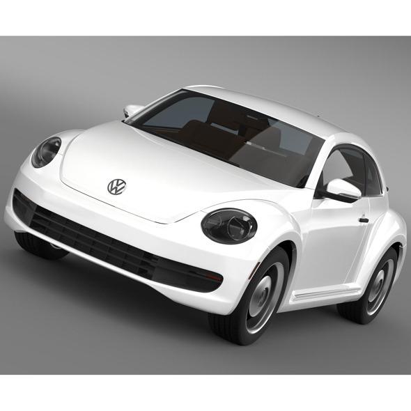 3DOcean Volkswagen Beetle Classic 2015 9170258