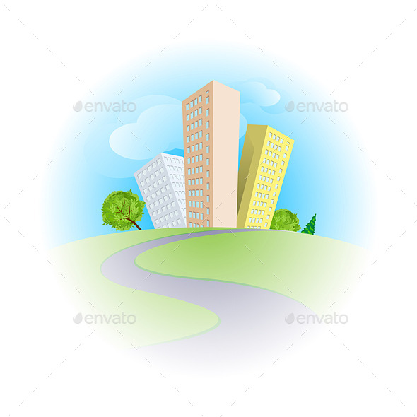 GraphicRiver City 9170349